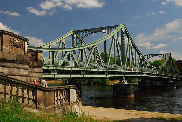 Glienicke Bridge where the spy exhange took place